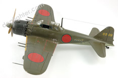 Zero A6M5c Japanese WWII dogfighter