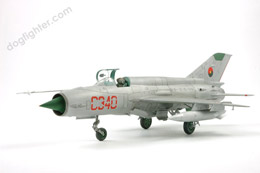 MiG-21 Fishbed Bare Metal