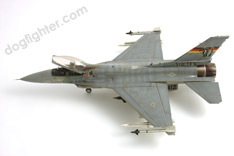 Gray Camouflage F-16