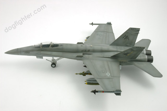 Gray Camouflage F/A-18C