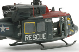 UH-1N Twin Huey Resue Helicopter