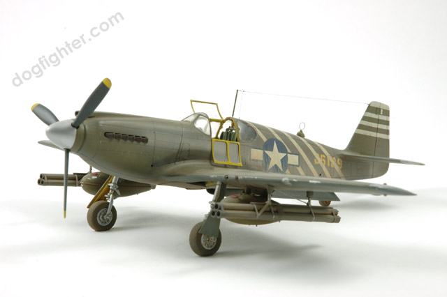P-51A Mustang Accurate Miniature