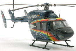 MBB BK-117 SpaceShip Helicopter