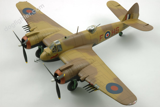 Bristol Type 156 Beaufighter 1:48