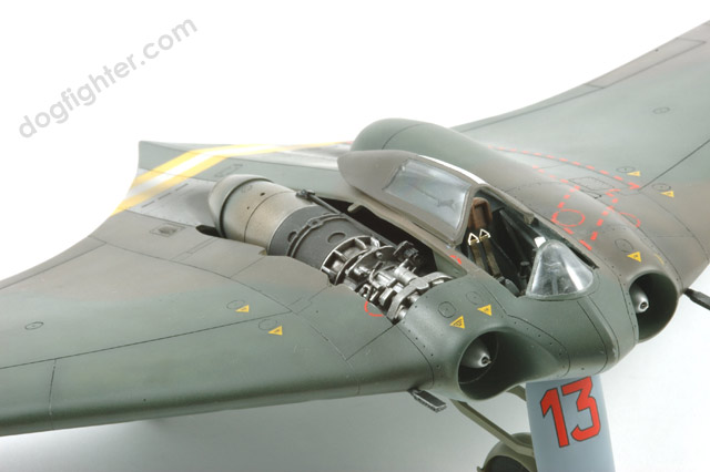 Horten 229 Gotha Go 229 Open Engine