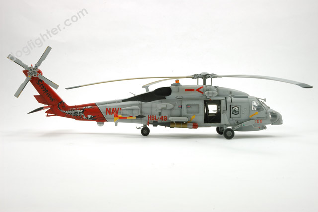 SH 60B Seahawk 1:48 pro built for sale