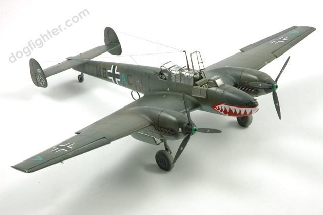 Messerschmitt Me Bf 110 Eduard Sharkmouth