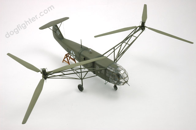 Focke German Military Helicopter