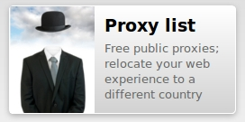 idcloak proxy list